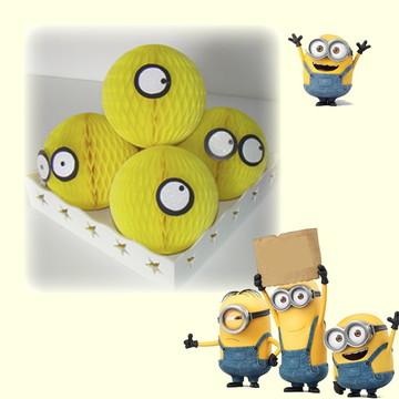 Bola decoração minions festa
