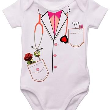 Body Bebê Médica