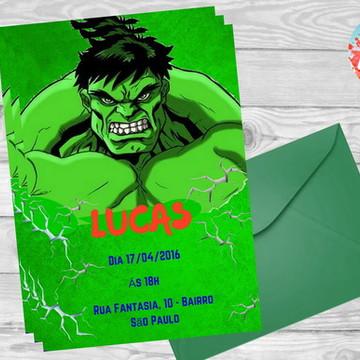 Convite Hulk