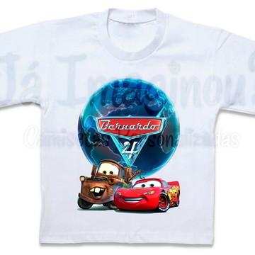 Camisetas Carros 2
