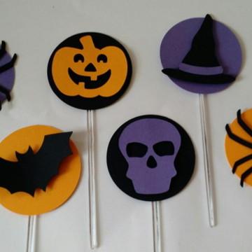 Pic para Cupcake e Doces Halloween