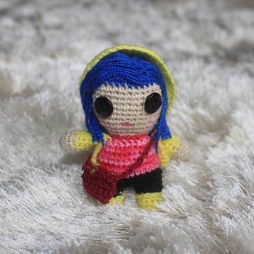 Coraline (pequena) :: Amigurumi