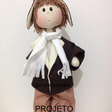 Projeto de Papel Boneco Aviador