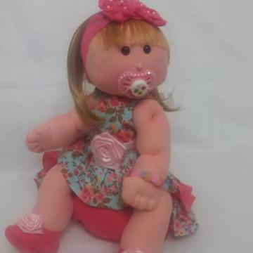 boneca de pano bebê