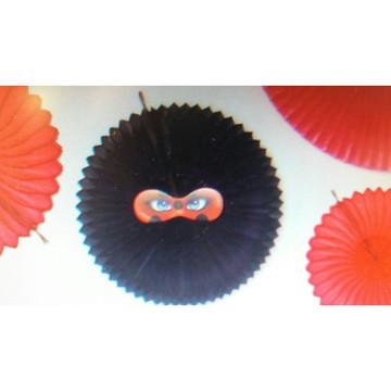 Fiorata com mascara ladybug decoraca