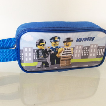 Estojo Lego City Policia e ladrão - lona