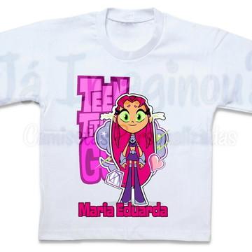 Camiseta Jovens Titãs em ação - Estelar