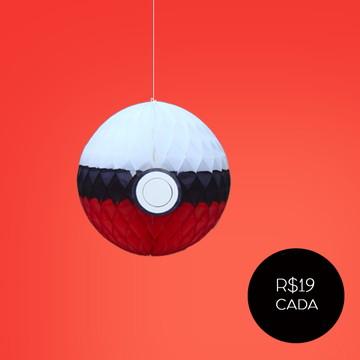 Pokebola Pokemon decoração festa