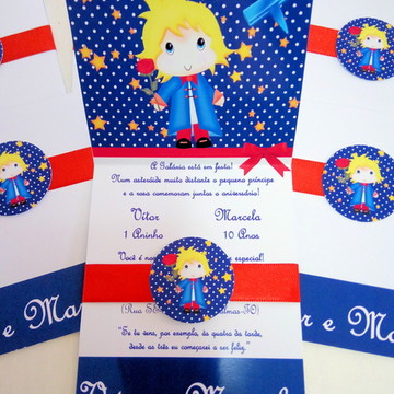 Convite O Pequeno Príncipe