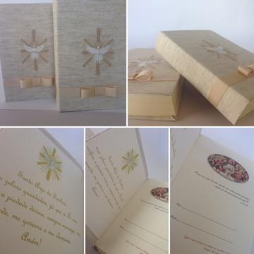 Biblia Primeira Eucaristia com caixa