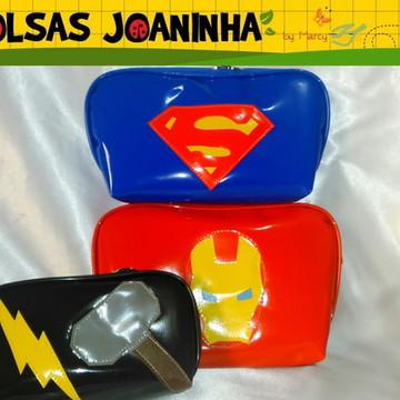 Kit Super Heróis, Estojos Super Heróis