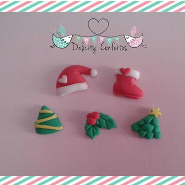 Confeitos Açúcar Natal