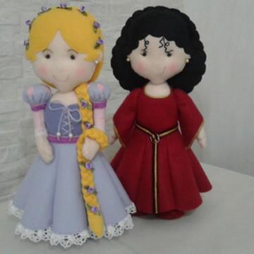 Rapunzel e Mamãe Gothel