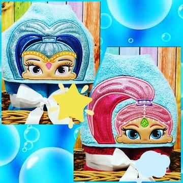 Toalha de banho com capuz Gênias