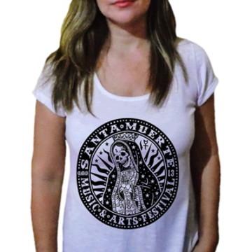 Camiseta Feminina Santa Muerte