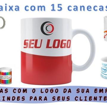Caneca de brinde (Empresarial) seu logo