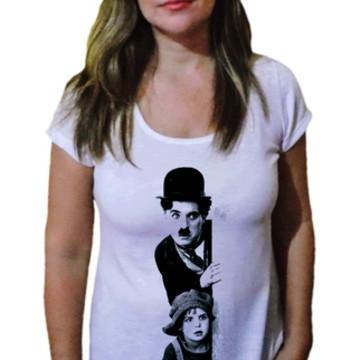 Camiseta Feminina Chaplin 2