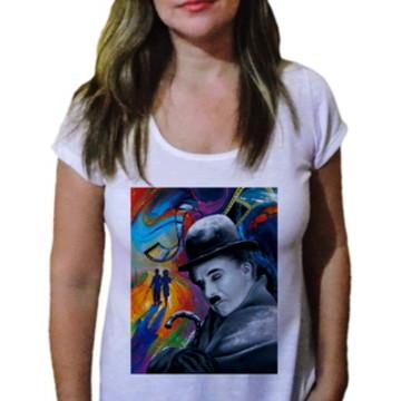 Camiseta Feminina Chaplin 4