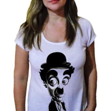 Camiseta Feminina Chaplin 5