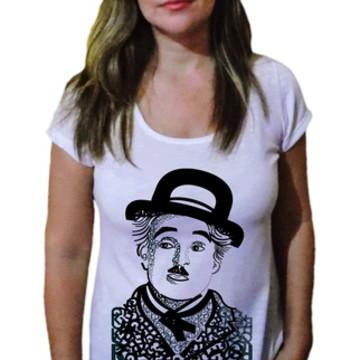 Camiseta Feminina Chaplin 9