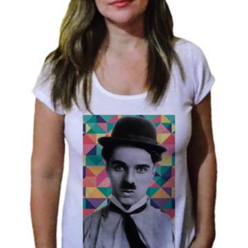 Camiseta Feminina Chaplin 10