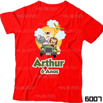 d3dc573ea8 Camiseta Safari Selva Bichos Aniversario