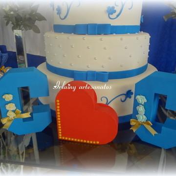 kit letras casamento