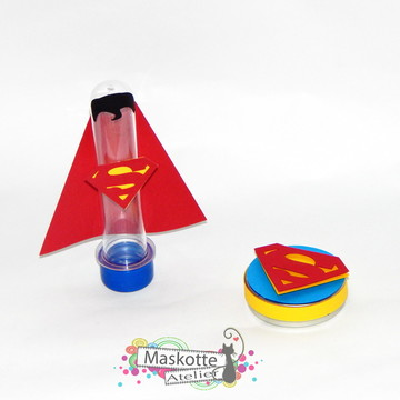 Kit festa Superman latinha + tubete