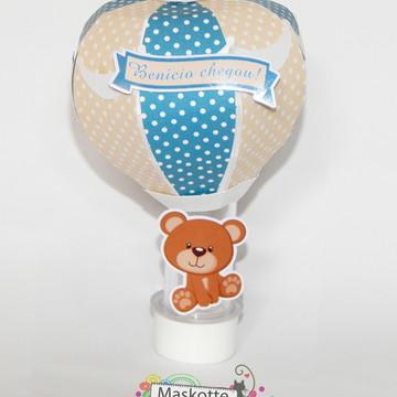 Tubete balão ursinho