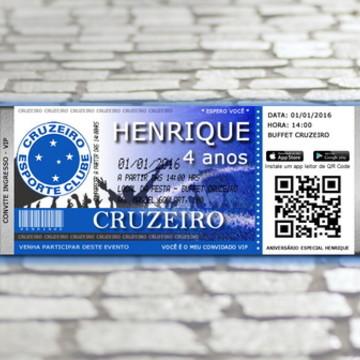 Convite Digital do Cruzeiro - VIP
