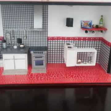 Quadro cozinha em miniatura