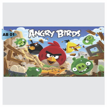Painel Festa Angry birds