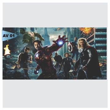 Painel Festa Infantil Avengers