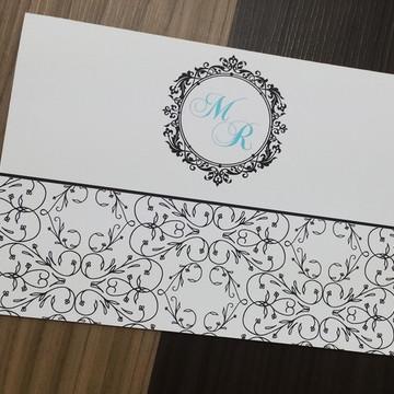 Convite casamento - Convite de 15 anos - Arabesco