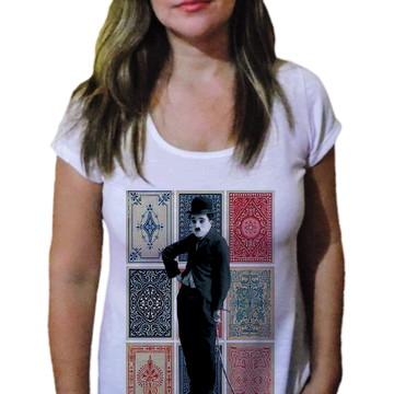 Camiseta Feminina Chaplin 12