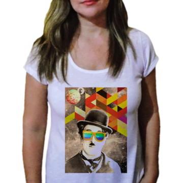 Camiseta Feminina Chaplin 13