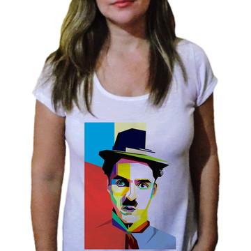 Camiseta Feminina Chaplin 14