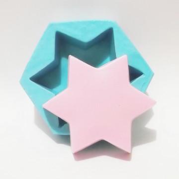 Estrela - molde de silicone