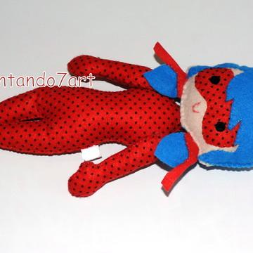 lady bug - Miraculous - boneca
