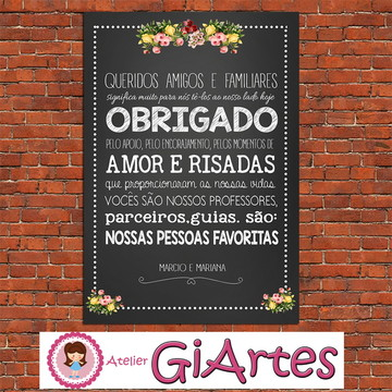 Chalkboard FRASES CASAMENTO DIGITAL