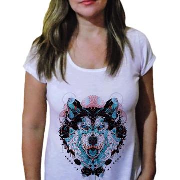 Camiseta Feminina Lobo 1