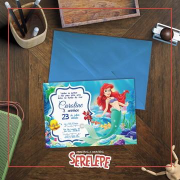 Convite Impresso Ariel