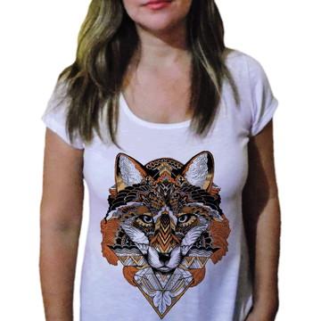 Camiseta Feminina Lobo 8