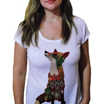 Camiseta Feminina Lobo 10