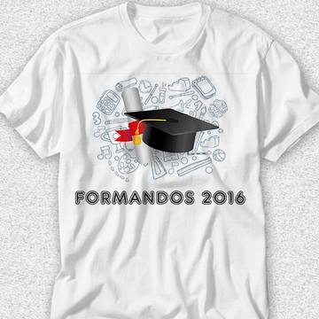 Frases Formatura Camiseta Elo7