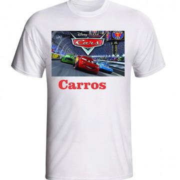 CAMISETA CARROS DISNEY