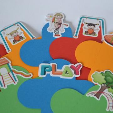 Forminha Festa no Play - meninas