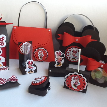 arquivo de corte kit minnie