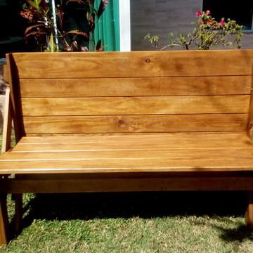 Banco que vira mesa/Móveis de madeira SC