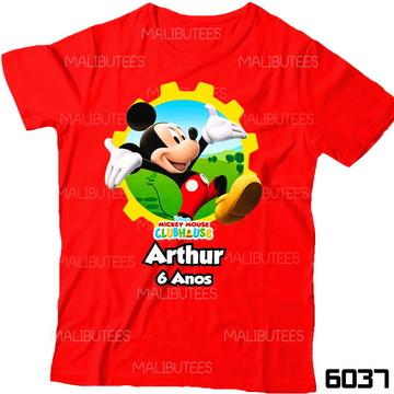 Camiseta Mickey Club House Aniversario